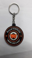 Bike World Royal Enfield Gun Type Key Chain Key Chain (Black)
