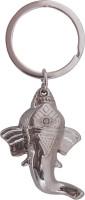 Oyedeal Kycn630 Ganesha Key Chain (Silver)