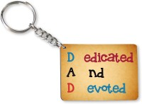 Tiedribbons Gift For Father's Day_Special Dad_07 Key Chain (Multicolored)