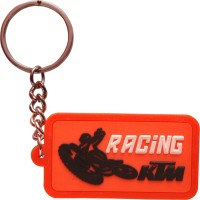 Oyedeal Racing KTM KYCN421 Bent Gate Key Chain (Multicolor)