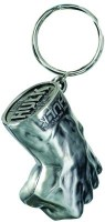 Prime Traders Hulk Fist Metal Silver Locking Key Chain (Multicolor)