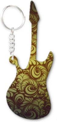 Lolprint 127 Pattern Guitar Key Chain