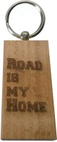 Cult Classics Road Is Home Keychain (Brown)
