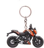 Ezone KTM Duke Bike Rubber Key Chain (Multicolor)