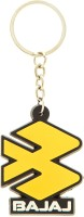 VeeVi Silicon Bajaj Bike Logo Key Chain (Multicolor)
