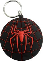Techpro Doublesided Spiderman Spidey Key Chain (Multi Color)