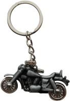 CTW Royal Enfield Bullet Bike Full Metal Key Chain (Grey)