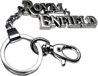 Confident ROYAL ENFIELD Locking Metal Locking Key Chain: Carabiner