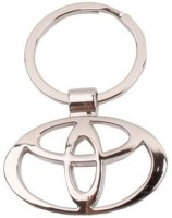 Mooz Toyota Full Metal Key Chain (Gold)