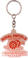 Oyedeal Royal Enfield Silicone KYCN555 Key Chain (Multicolor)