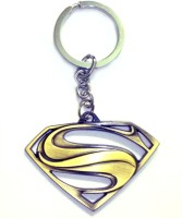 Confident Metal 01 SUPPER MAN Keychain (Multi)