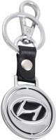 Forty Creek Hyundai Locking Key Chain (Silver, Black)