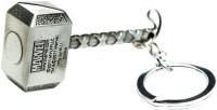Chainz Thor Metal Hammer Keychain (Silver)