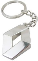Confident Metal MVP183 RENUALT Logo Key Chain (Silver)