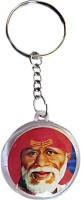 DCS Circle Baba Om Key Chain (Multicolor)