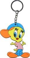Techpro Singlesided Tweety Bird Key Chain (Multi Color)