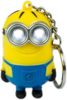 CTW Despicable Me 3D Musical Light Minion Keychain (Yellow)