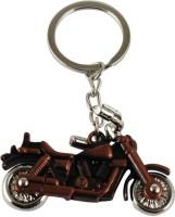 Eshoppee Bullet Bike Antique Copper Metal Key Chain (Multicolor)