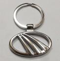 Aura Mahindra Full Metal Key Chain - Silver