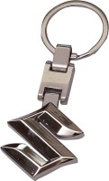 Daffodils Suzuki Car Logo Key Chain Locking Key Chain (Silver,Chrome)