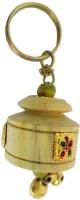 CTW Pine Wood Matki Design Keychain (Cream)