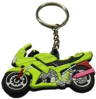 Aura Sports Bike Rubber Key Chain (Multicolor)