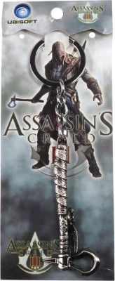 Oyedeal Assassins Creed Tomahawk Axe Key Chain Multicolor