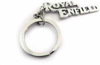 Techpro Royal Enfield Key Chain (Silver Metal Color)