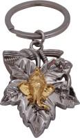Oyedeal Kycn614 Leaf Golden Ganesha Key Chain (Multicolor)