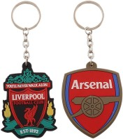 Confident Liverpool And Arsenal Ultimate Keychain (Multi)