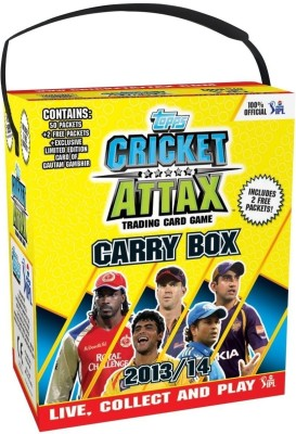 Buy Topps IPL 2013 Cricket Attax Display Box: Card Game