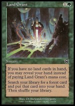 Magic: the Gathering Card Games Magic: the Gathering Land Grant Mercadian Masques