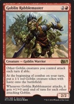 Magic: the Gathering Card Games Magic: the Gathering Goblin Rabblemaster Unique & Misc Promos Foil
