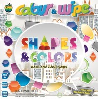 Apple Apple Fun Colour Wipe Shapes  Colour