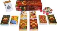SHARDA MARIGOLD CLUB QUALITY PLAYING CARDS PACK OF 12 (RED)