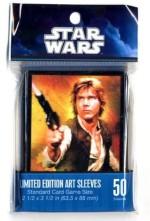 Fantasy Flight Games Card Games Fantasy Flight Games Star Wars Limited Edition Art Sleeves Han Solo
