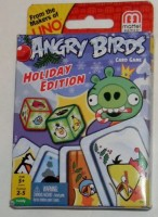 Rovio Angry Birds Holiday Edition From The Makers Of Uno (Multicolor)
