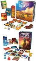 Gamewright Forbidden Island And Forbidden Desert Board(Set Of 2) (Multicolor)