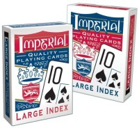 Patch Products Inc. Patch Products Imperial Large Index Playing Cards (Multicolor)