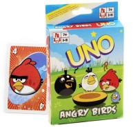 Switch Control Mattel Angry Birds UNO Cards (Multicolor)