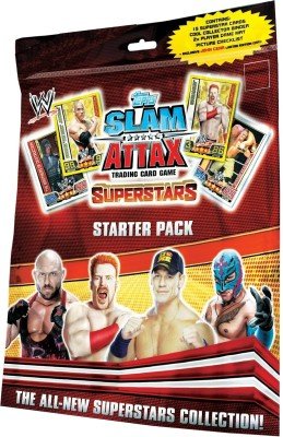 Buy Topps WWE Slam Attax Superstars - Starter Pack: Card Game