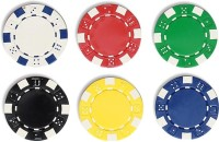 Casinoite Poker Chips Without Denomination 200 Toy (Multi-color)