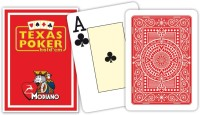 Modiano Texas Poker Jumbo Cards Pack Of 8 (All Colours)