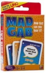 Mattel Card Games Mattel Mad Gab Pictogabs