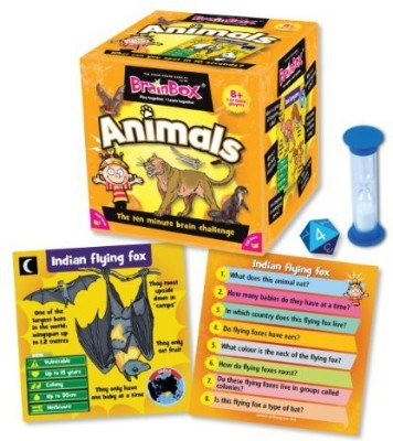 University Games BrainBox Animals