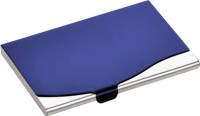 Zarsa Za-E191415bl Blue Stainless Steel, 10 Card Holder Set Of 1, Blue