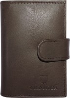 WILDMODA 20 Card Holder (Set Of 1, Brown)