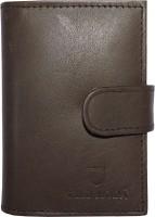WILDMODA 20 Card Holder (Set Of 1, Brown)