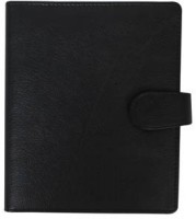 The Runner Series Black Business Organizer With Calculater And Notepad, 15 Card Holder (Set Of 1, Black)