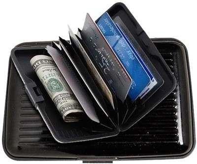 huge selection of 67683 56575 Buy Daimo Aluma, 6 Card Holder Set of 1, Black, Silver @ ₹ 95 by ...